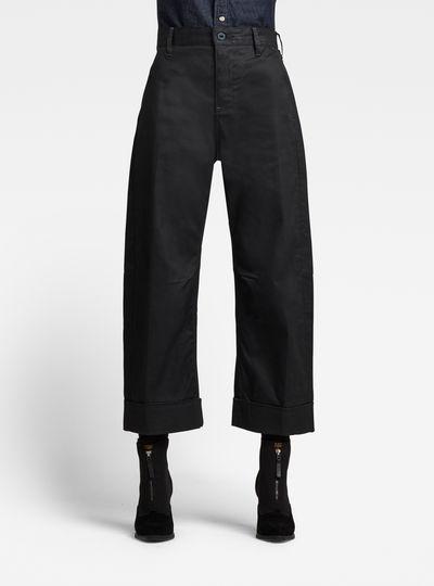 GSRR Eve 3D Mid Wide leg Jeans