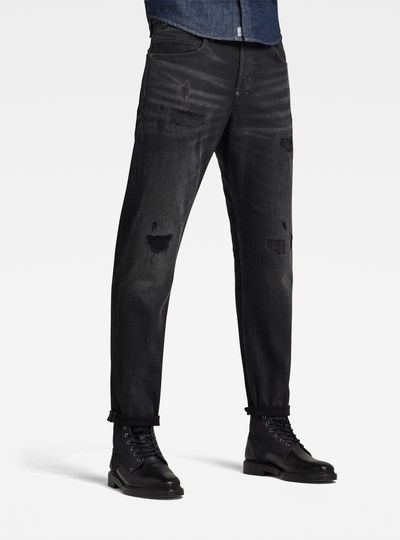 Jean Alum Relaxed Tapered