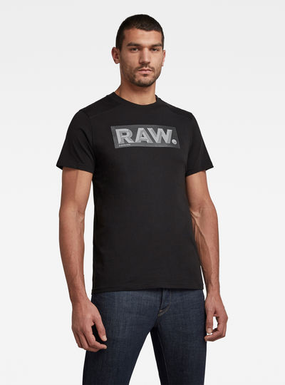 Reinforced Reflective Raw. Logo T-Shirt