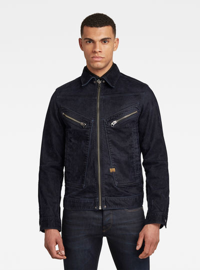 Air Force Denim Jacke