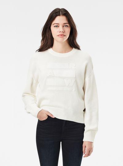 Raw Space GR Boyfriend Knitted Pullover