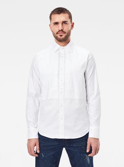 Panelled Pocket Slim Hemd