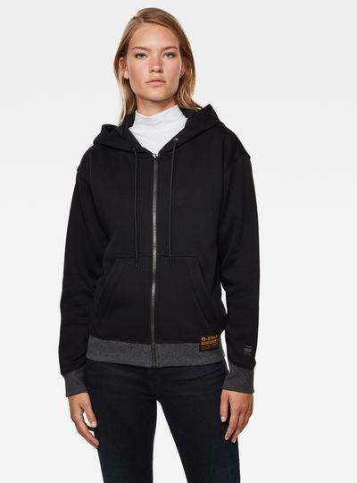 Premium Core Zip Through Hoodie