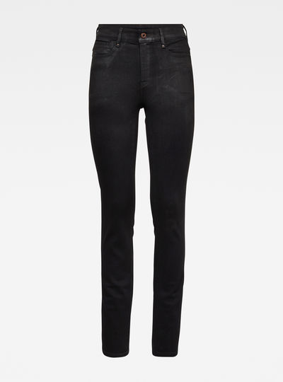 Noxer Navy High Straight Jeans