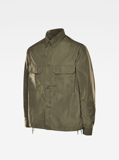 2 Flap Pocket Relaxed Overshirt