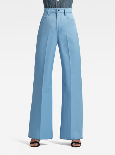 Deck Ultra High Wide Leg Pants