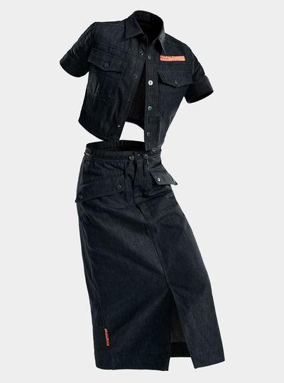 E Moto Uniform Kleid