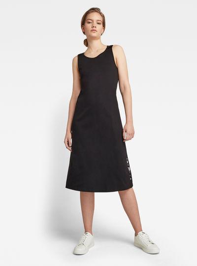 A-Line Dungaree Kleid