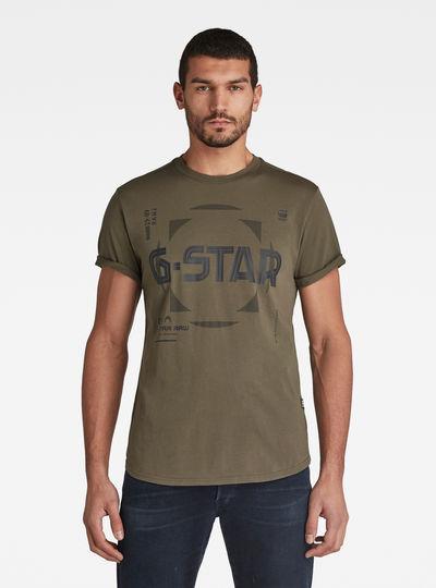 T-shirt Lash Graphic