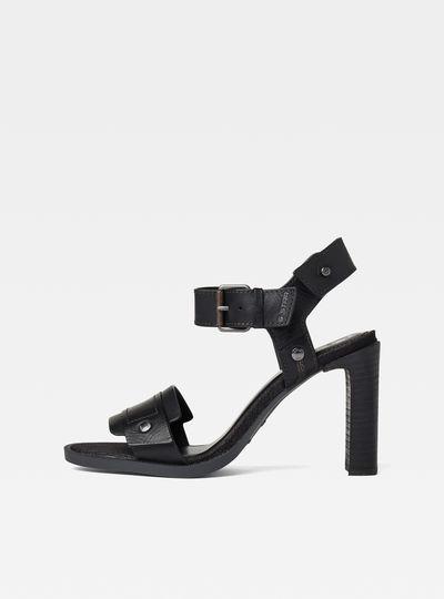 Corset Sandal Heel