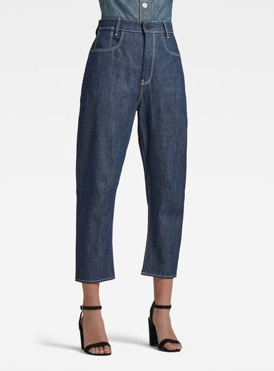C-Staq 3d Boyfriend Crop Jeans C