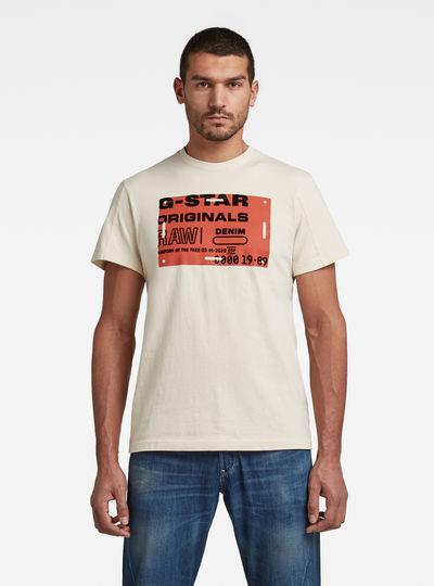 Flock Badge Graphic T-Shirt