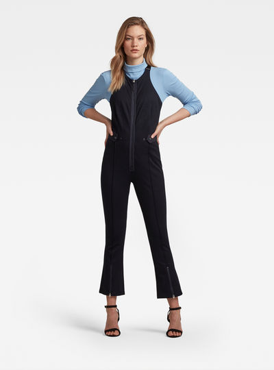 Slim Fit Dungaree Jumpsuit