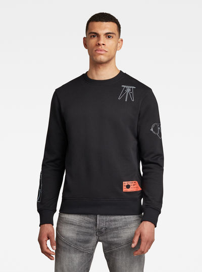 Object Graphic Sweater
