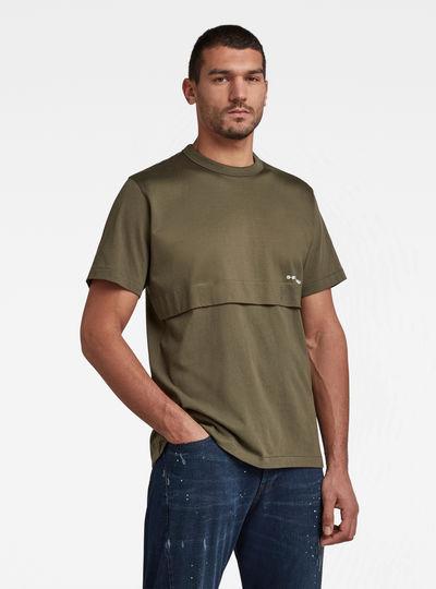 T-shirt Mercerized C&S Loose