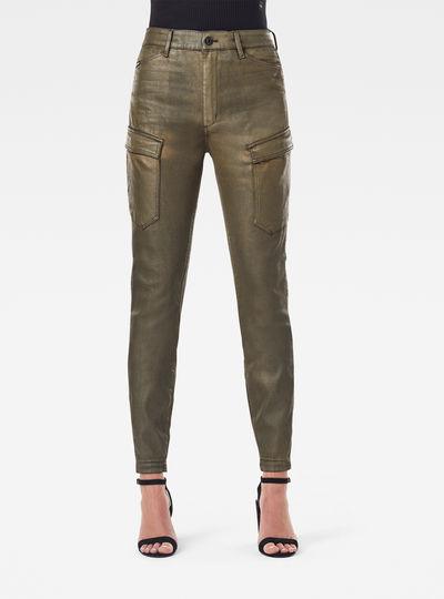 Pantalon High G-Shape Cargo Skinny