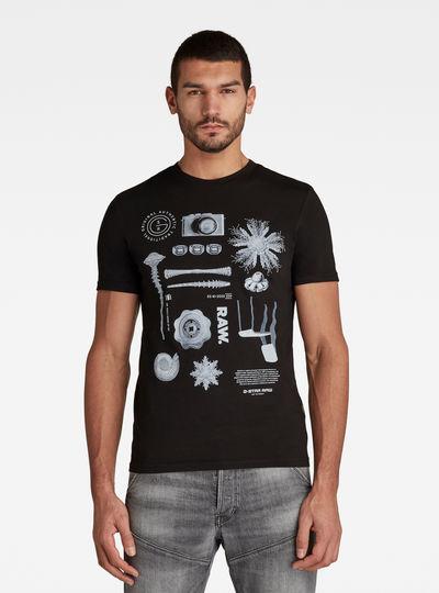 Object Raw. T-shirt Slim