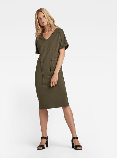 Adjustable Waist Dress