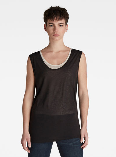 Sheer Double Layer Top