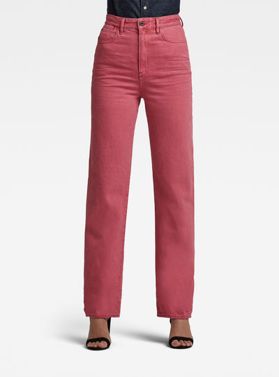 Tedie Ultra High Long Straight Jeans
