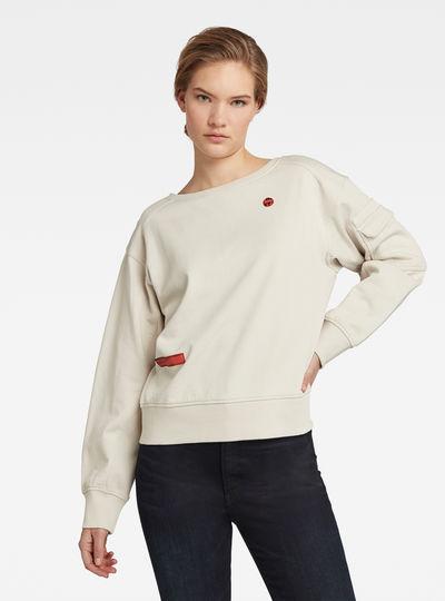 Boat Neck Sweatshirt