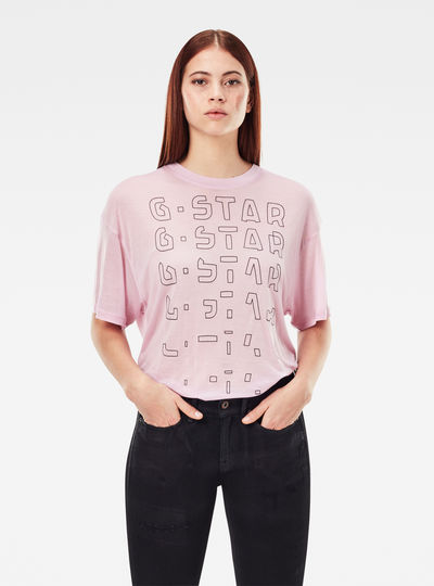 Sheer Faded Graphic Tee