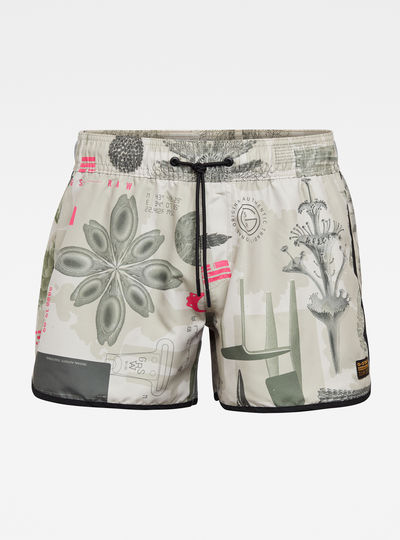 Carnic Allover Printed Swimshorts