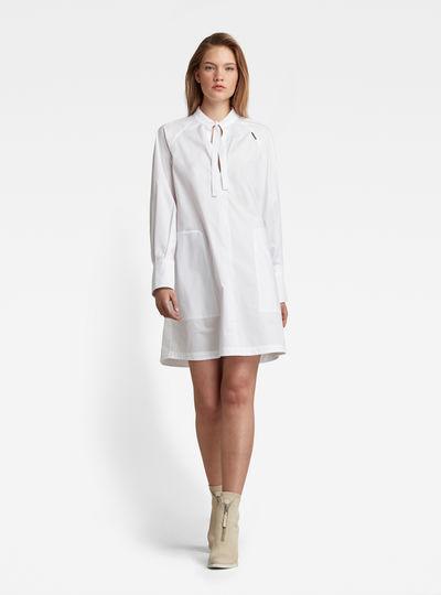 V-Neck Tunic Kleid