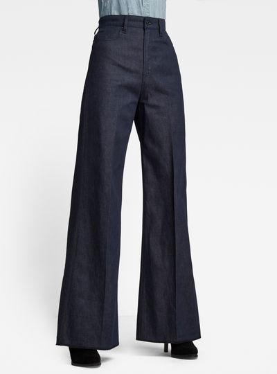 Deck Ultra High Wide Leg Pants