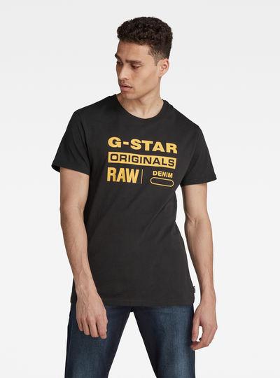 Raw. Graphic Slim T-Shirt