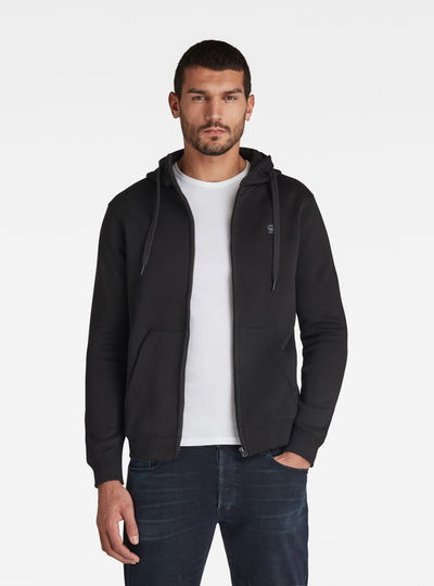 Premium Core Hooded Zip Sweater