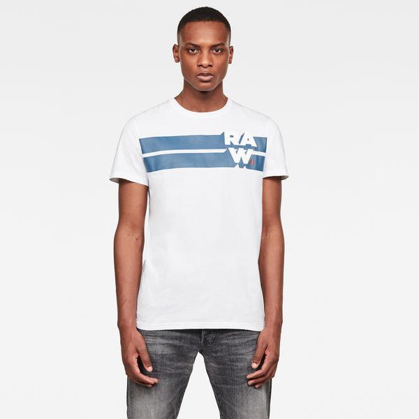 G-Star Raw Womens RC Oluva Straight s//s T-Shirt White