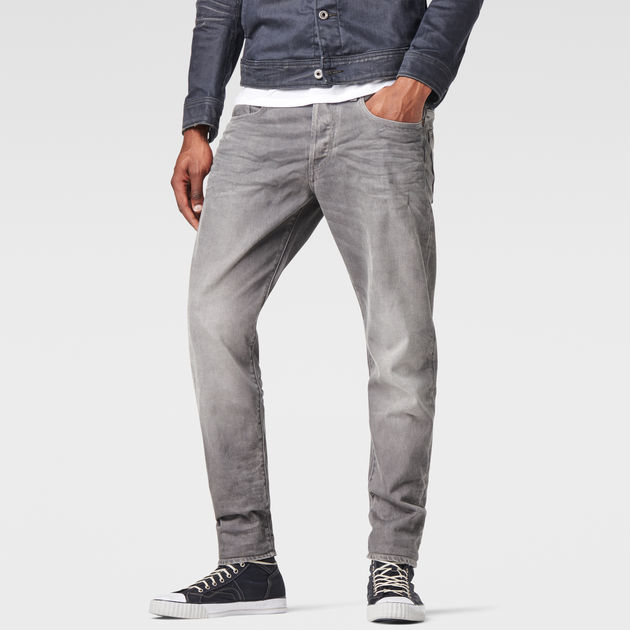 a3e683d4 3301 Straight Tapered Jeans | Light Aged | Men | G-Star RAW®