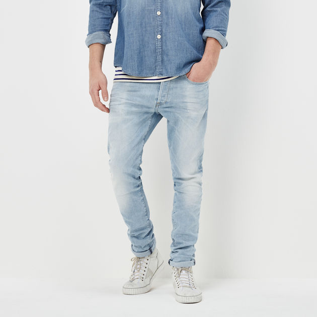 9af0a0cd670 3301 Straight Tapered Jeans | Light Aged | Men | G-Star RAW®
