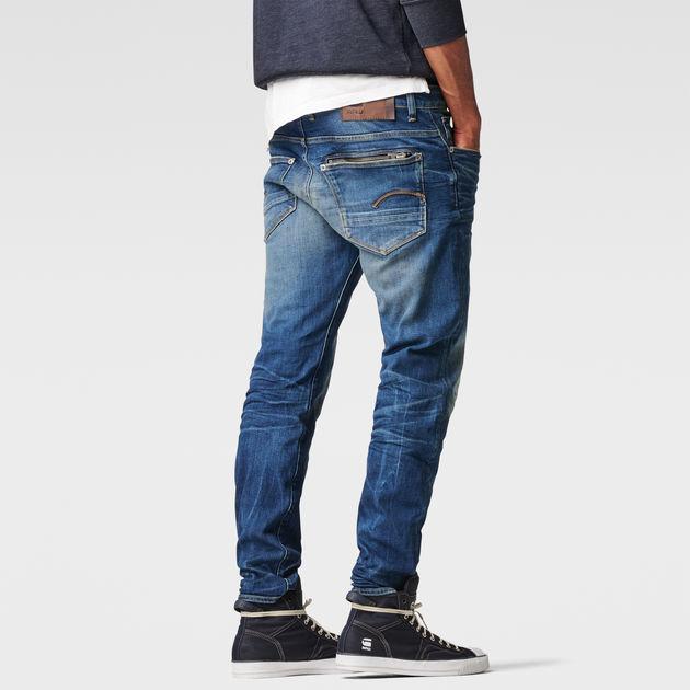 Jeans G Star Attacc straight G Star en bleu pour homme
