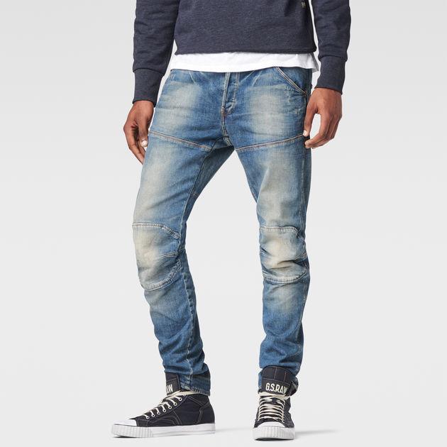 G-STAR Men/'s Slim Fir Jeans 5620 Elwood 3D Slim