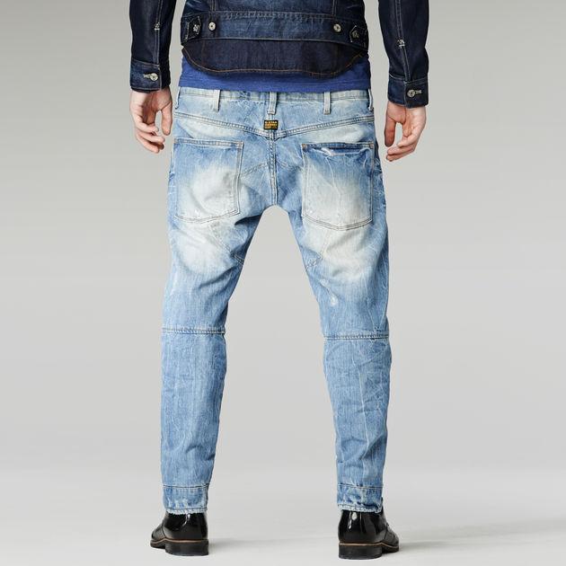 de4d43e133c ... G-Star RAW® 5620 G-Star Elwood 3D Low Tapered Jeans Light blue ...