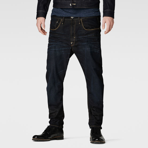Type C 3D Loose Tapered Jeans | Indigo Aged | G-Star RAW®