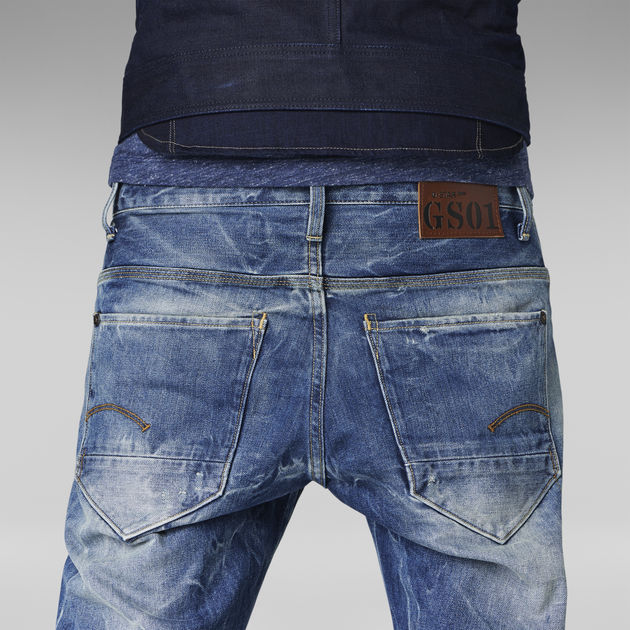 6b5e64d2c30 New Radar Slim Jeans | Medium Aged Destroy | Men | G-Star RAW®