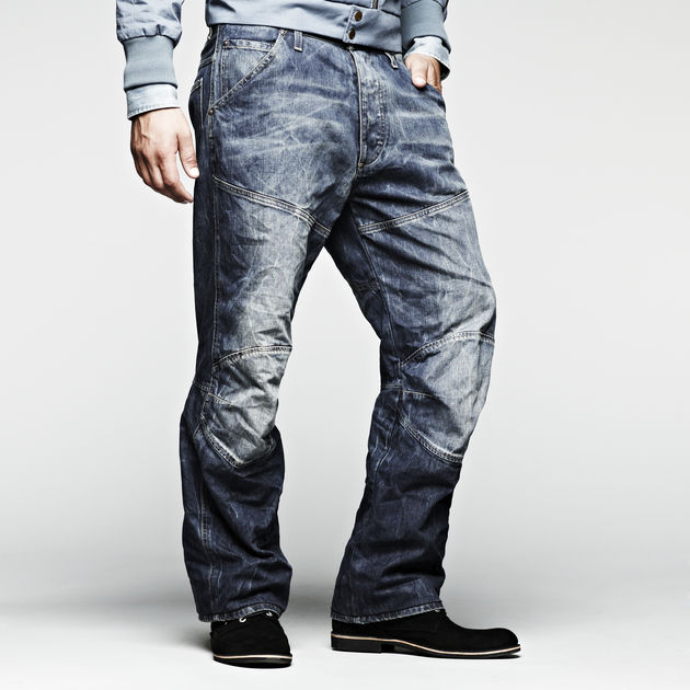 G-Star 5620 3d loose Hommes Jeans Pantalon Rugby Wash 33//32 w33 l32 bleu nouveau gs8