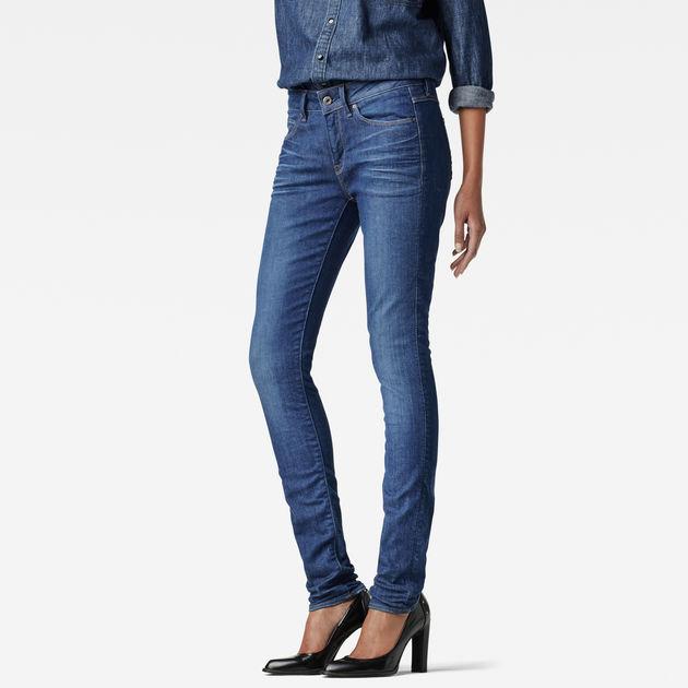3301 Contour High Waist Straight Jeans | Dark Aged | G Star RAW®