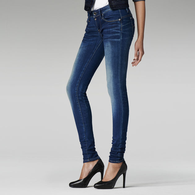 da147e6ebe5 G-Star RAW® Midge Sculpted Low Waist Skinny Jeans Medium blue ...