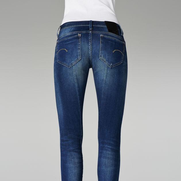 cac1682ffac ... G-Star RAW® Midge Sculpted Low Waist Skinny Jeans Medium blue ...