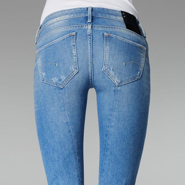 2b835276f17 Midge Sculpted Low Waist Skinny Jeans   Medium Aged   G-Star RAW®