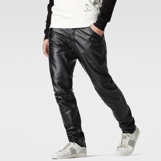Leather 5620 3D Slim Pants