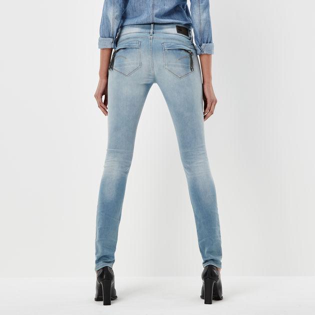 G-STAR RAW Midge Cody Mid Waist Skinny Jeans Donna