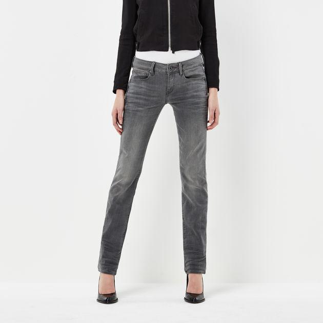 6c636228b5c Attacc Mid Waist Straight Jeans | Medium Aged | G-Star RAW®