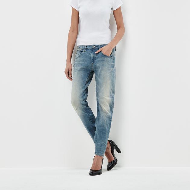 4fe44f580976 Arc 3D Low Waist Boyfriend Jeans | Light Aged | G-Star RAW®