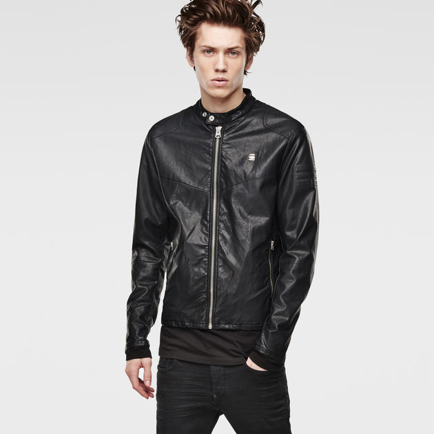 Edla Faux Leather Jacket