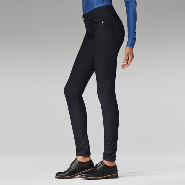 6acd3fb09de G-Star RAW® Arc 3D High Waist Super Skinny Jeans Dark blue ...